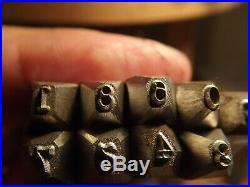 0,094 inch Stamp Punch set digital for Colt
