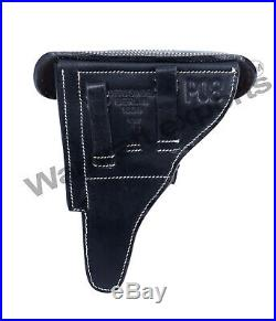 10X (Pack of TEN) WWII German P08 Luger Pistol Holster Black