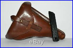 1940 German Luger Police issue holster (Clip Included)