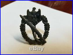 1 1939 German Infantry Assault Badge Not a Reproduction