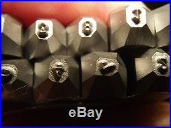 1,5 mm Stamp Punch set digital Mauser luger