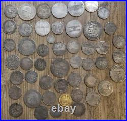 50 Piece coin lot WW2 WWII German Elite SS Kampft Weiter 1 Schilling Kantine