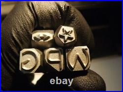 8 mm Stamp Punch set Letter stamps Punch Ford-GPW-Jeep