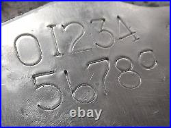 8 mm Stamp Punch set digital stamps Punch Ford-GPW-Jeep