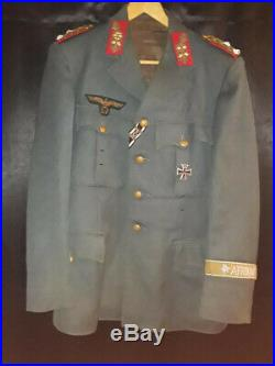 AFRIKA KORPS COLONEL GENERAL TUNIC/replica used in movies