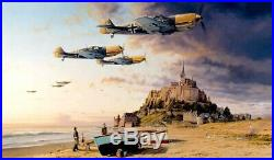 Aces on the Western Front by Robert Taylor Signed by Luftwaffe Aces
