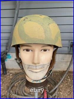 At The Front WW2 German reproduction M38 Para Helmet
