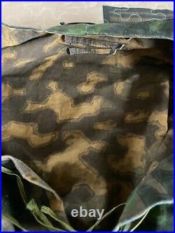 (Authentic)WW2 German Elite Assault Troops M42 Polyspot Camo Smock NO RESERVE