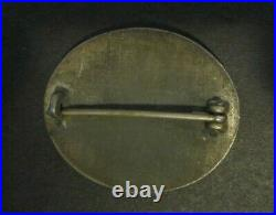 Authentic WWII Nazi German Silver Wound Badge