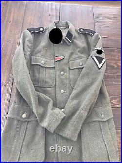 Beautiful Quality WWII German M40 Tunic/ Check description/ Offers accepted
