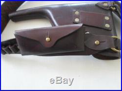C96 conehammer brown leather broomhandle mauser holster Hans Romer Neu-Ulm 1915