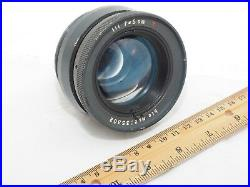 Carl Zeiss Military blc 5cm INFRARED night vision lens. Circa 1943, WWII