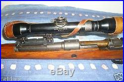 Claw Mount Base for HENSOLDT WETZLAR DURAL-DIALYTAN X 4 rifle scope CUSTOM MADE