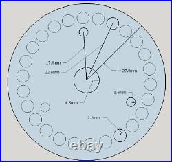 Enigma Machine Rotor Wiring PCB