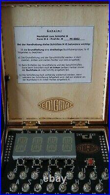 Enigma Machine Simulator PicoEnigma, a simulation of all popular machines