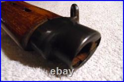 G43 / K43 Wooden Rifle Stock With Sling Swivels & Shoulder Pad