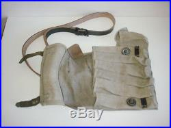 GERMAN ARMY WW2 WWII REPRO paratrooper ammo pouches 6 mags with strap AGED