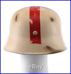 GERMAN WW2 WWII M35 Medic Winter Cammo Helmet Stalingrad Cammo