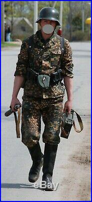 GERMAN WWII Uniform KitCAP, Tunic (Eagle and Tabs Waffen CC)&Trousers, (REPRO)