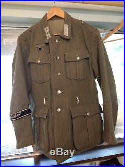 GORGEOUS Early prod  Lost Battalions M40 Heer Grossdeutschland Wool