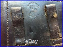 German 1936 Luger Holster Gun Parts Model 1908 Ryffel & Borns