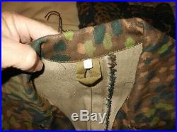 German 1944 Dot Jacket and Pants both XL, At The Front, Excellent condition