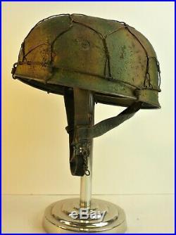 German Army Stahlhelm WW2 M38 Fallschirmjager Paratrooper Helmet (RE-CREATION)