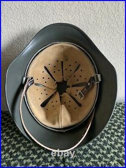 German Army WWII M35 Steel Helmet Stahlhelm WW2 Shell Size 70 With Heer Decals