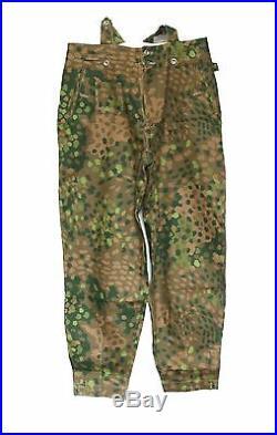 German Elite Camo Hbt Dot 44 M43 Field Military Uniform Blouse & Trousers XXL