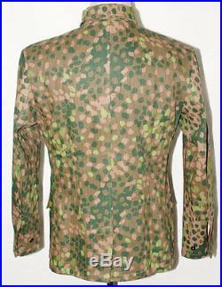 German Elite Linen Hbt Dot 44 M43 Field Uniform Tunic & Trousers L-31055