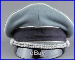German Elite Visor cap for infantry. Earlier Janke type