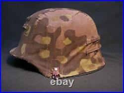 German Helmet Cover, Elite Troops