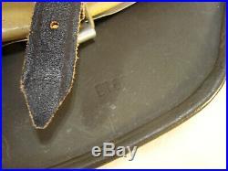 German Helmet, WW2, Original m1940 shell ET66, repro liner and chin strap