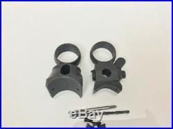 German K98 K98k 98k Mauser low turret sniper scope mount 100% machined no casted