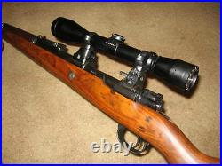 German K98 k98K 98k Mauser high turret sniper scope mount with split rings