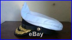 German Kriegsmarine Admiral Visor Cap Replica Size 60 cms
