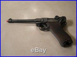 German Luger artillery rig, vintage replica