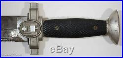 German Red Cross EM Dagger Ges. Geschutzt WW2 Excellent Original, Rare