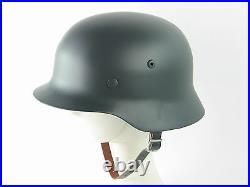 German WW2 M35 Gray Steel Helmet Field Best Replica Helmets Collectable New