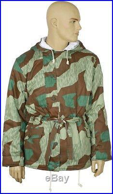German WW2 Splinter/White camouflage parka winter reversible jacket