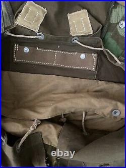 German WW2 Tropical Rucksack with Ersatz Shoulder Straps