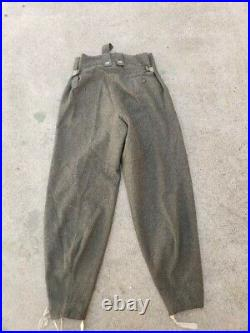 German WW2 WWII Trousers Pants On the March