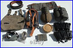German WWII Reproduction Soldiers field gear set up PEFFECT for