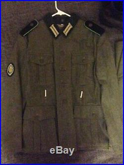 German WWII WW2 Gebirgsjäger Wool Wehrmacht Uniform Lot M36/M37 Reproduction