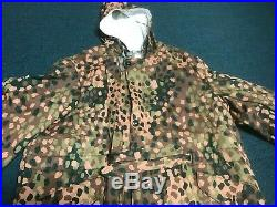 German WW II Camouflage Double Sided Reproduction Parka