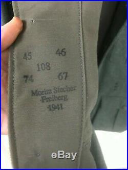German WW II Uniform Coat Elite Reproduction New Unworn