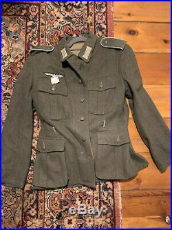 German Wehrmacht M40 Tunic And Pants Medium