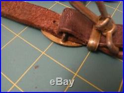 German Ww2 Leather Dagger Hanger
