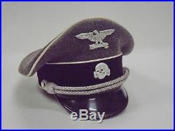 German Ww2 Rare Italian Officer Elite Cap