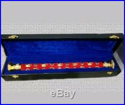 German army field Marshall batons Excellent Hand Crafted With Hard Velvet Box